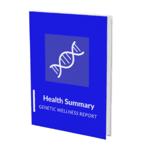 Health Summary Genetic Wellness Report