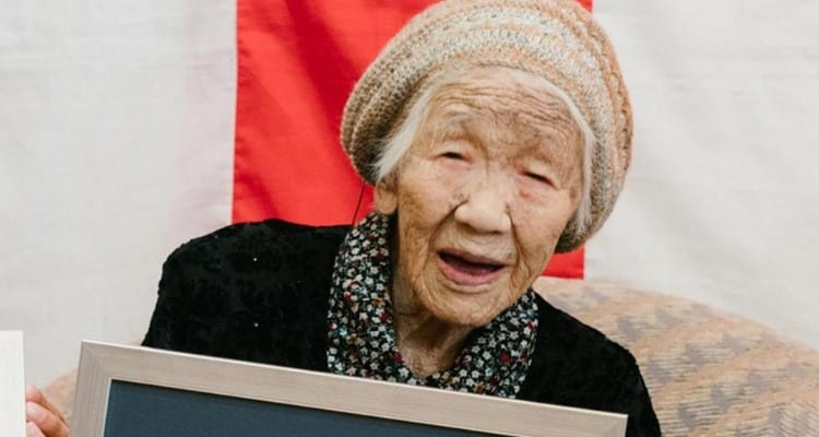 Kane Tanaka is the oldest living person.