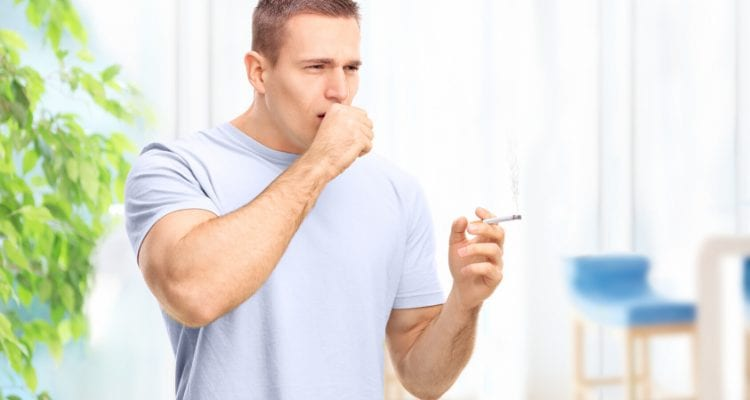 Man Stops Smoking To Reduce And Clear Lung Mucus