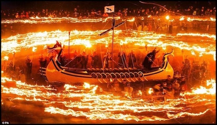 Up Helly Aa Viking Festival Winter Adventure