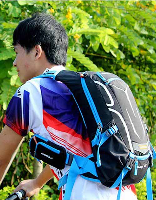 Hoova With Blue Ultralight Day Pack