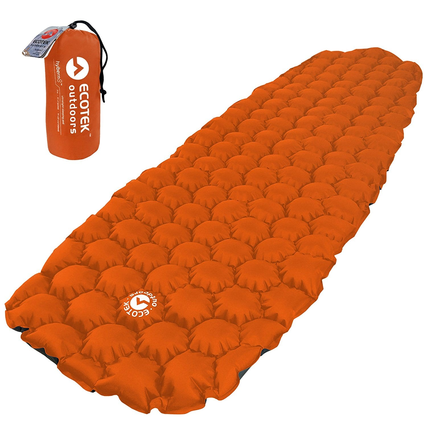 Eco Friendly Outdoors Hybern8 Ultralight Inflatable Sleeping Pad