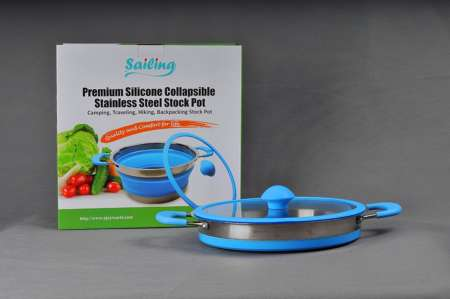 Collapsible Camping Backpacking Pot