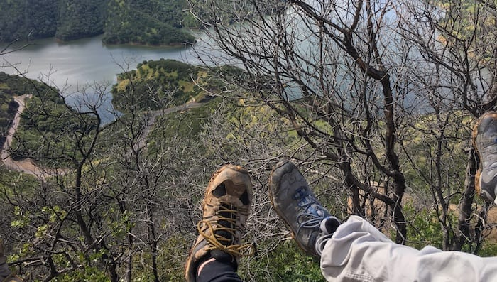 David Aston and Lucas Demo Ultralight Backpacking Shoes