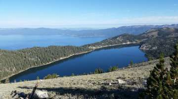 Tahoe Meadows Trail To Spooner Summit, Tahoe Rim Trail