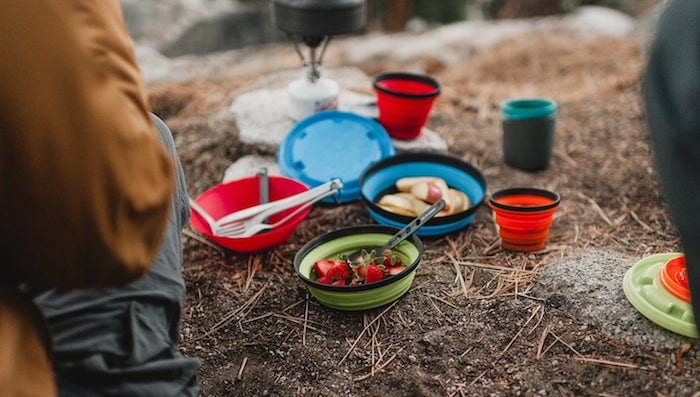 Ultralight Backpacking Meal Planning