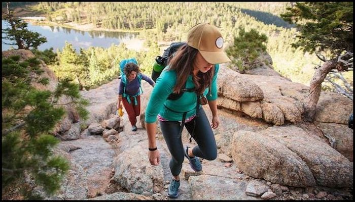 Loudpack Ladies Hiking In The Sierras with Low Cost, High Quality Hiking Clothes | AdventureHacks