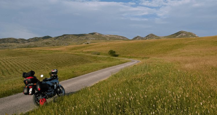 Long Way Round Journey By Mortorcycle.