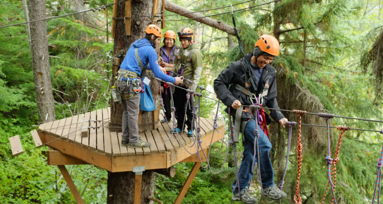 Tree Climbing and Tree Top Adventures In Chilkat Alaska