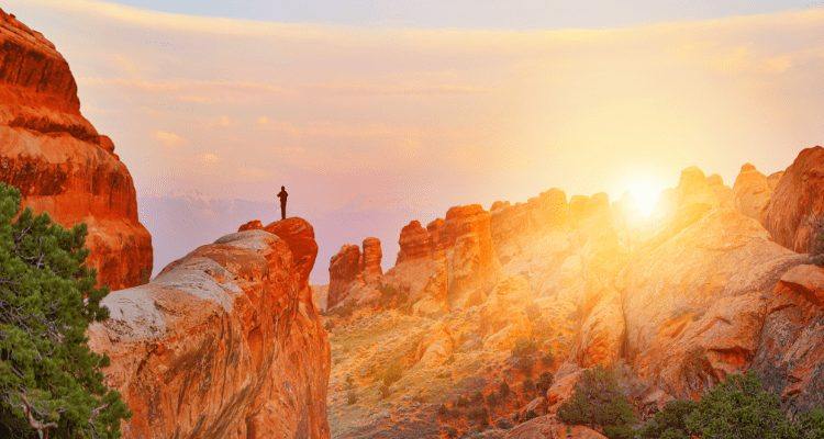 Hiking Trails in Arches National Park