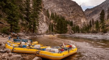 Salmon River Idaho - Middle Fork Rafting