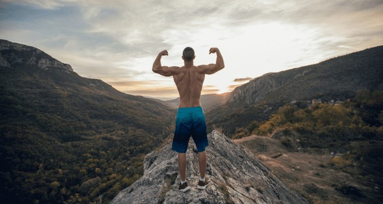 hiking makes you strong
