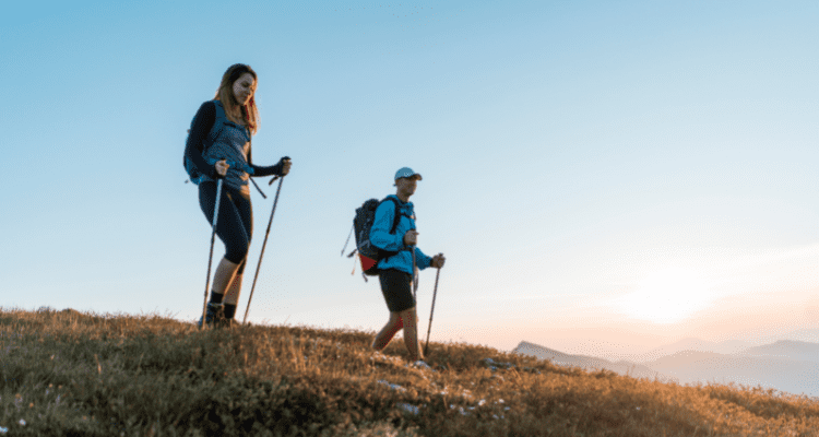Hike in the morning to avoid mosquitoes
