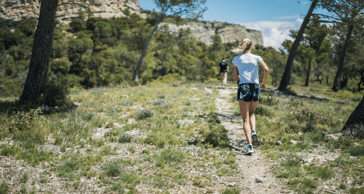 hike in light colored clothing to minimize encounters with ticks and mosquitoes